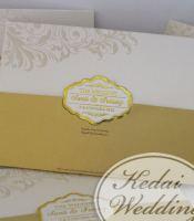 undangan warna gold