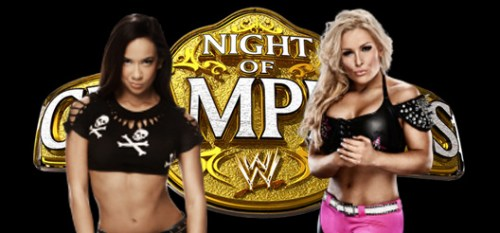 AJ Lee Natalya Diva's Title Night of Champions 2013 Full Match Download HQ