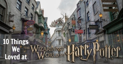 Here are 10 things we loved about the Wizarding World of Harry Potter at Universal Studios Florida