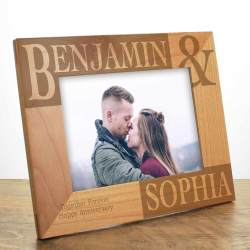 Aweinspiring Personalised Wooden Photo Frame Personalised Photo Frames Engraved By Engraved Frames 11x14 Engraved Frames Canada