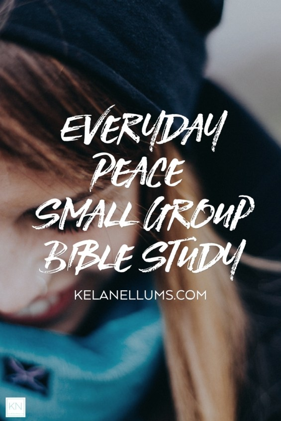 Pursuing What Is Excellent -- Everyday Peace Small Group Bible Study