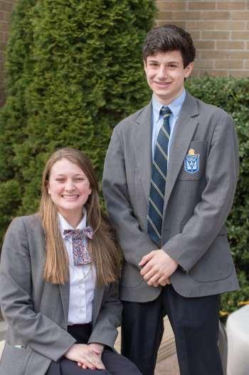 Juniors Sarah Ellis and Jon Michael Connelly