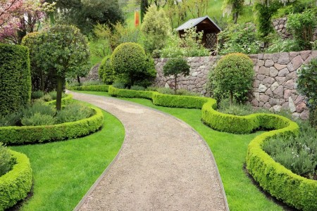 landscaping property lines