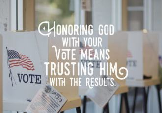 How Should I Vote as a Christian?