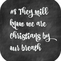 8 They will known We are Christians