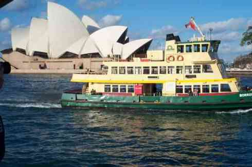 Sydney Harbour Ferry (Opera House in the background)