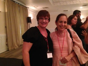 Squee number 2: Me with author Darynda Jones!