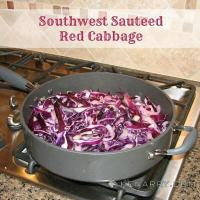 Red Cabbage Recipe: A Tasty Southwest Sautéed Side Dish