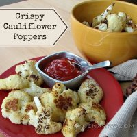 Baked Cauliflower Poppers: A Crispy Low-Carb Side Dish