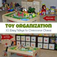 Toy Organization: 10 Easy Ways to Overcome Chaos