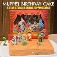 Muppet Birthday Cake: Star-Studded Showstopping Stage