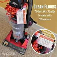 Clean Floors: What She Really Wants This Christmas