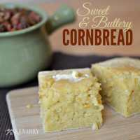 Sweet and Buttery Cornbread: Unbelievably Delicious Recipe