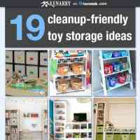Toy Storage: 19 Clean-up Friendly Ideas