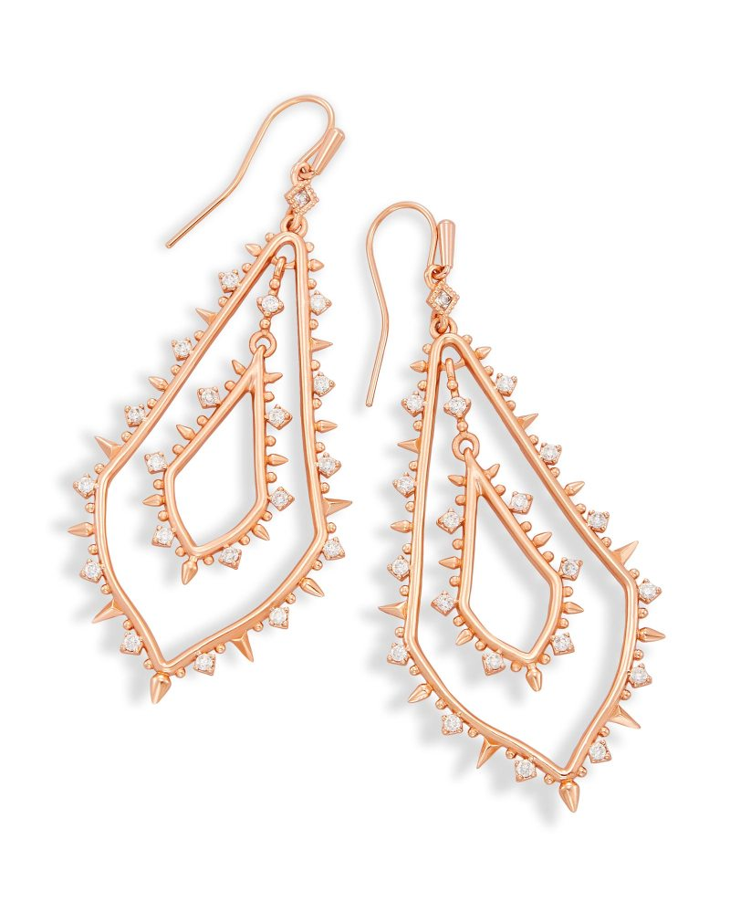 Large Of Rose Gold Earrings