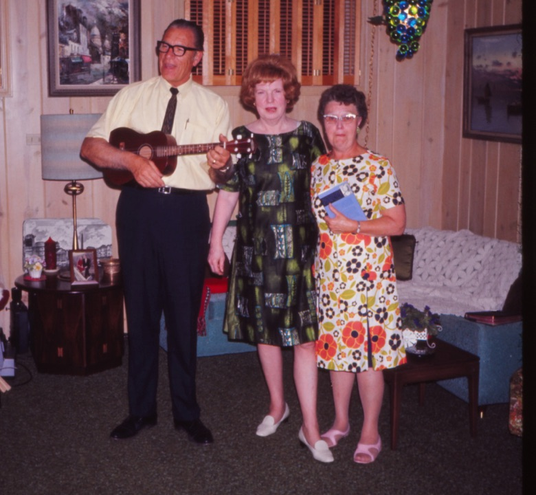 Bev and Irma Shea with Dorothy Kemp