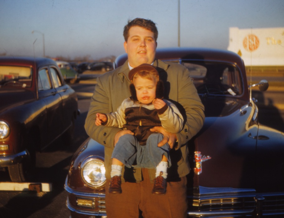 Dad with Kenny 1949
