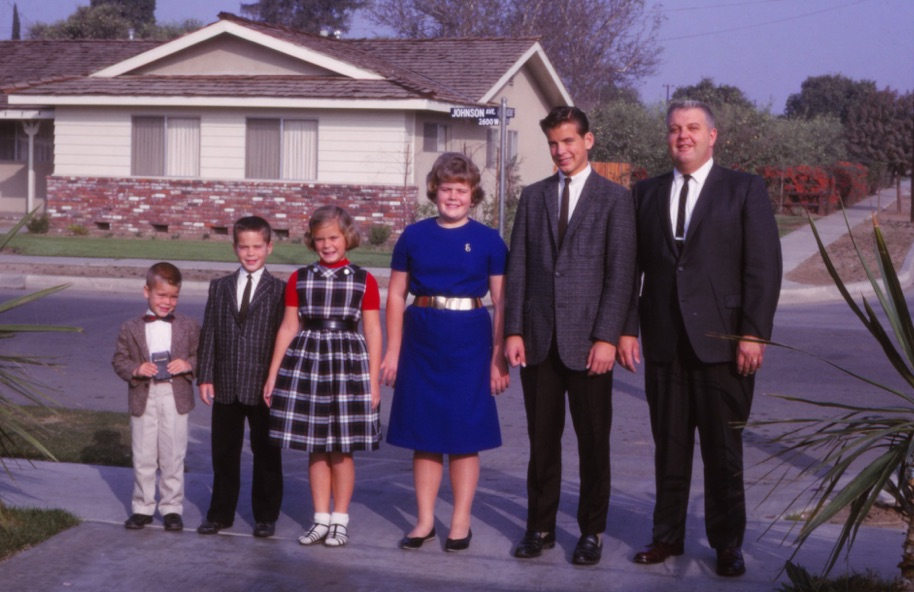 Dad, Ken, Von, Barb, Dale and Roger 1965