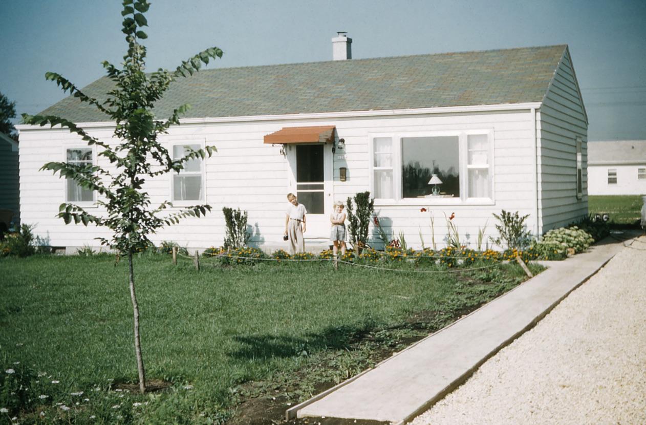 President Street House 1953