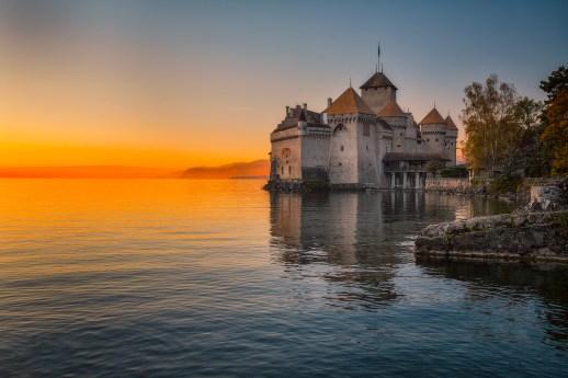 Image result for chillon castle switzerland