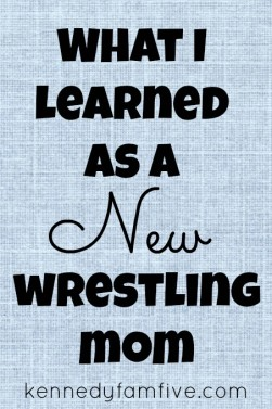 What I Learned as a New Wrestling Mom