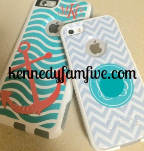 personalized cell phone cases. kennedyfamfive.com's favorite things.