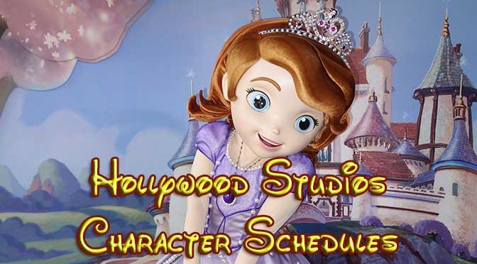 Hollywood Studios Character Meet and Greets ...