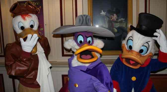 Disneyland Paris Halloween Characters Including March Hare