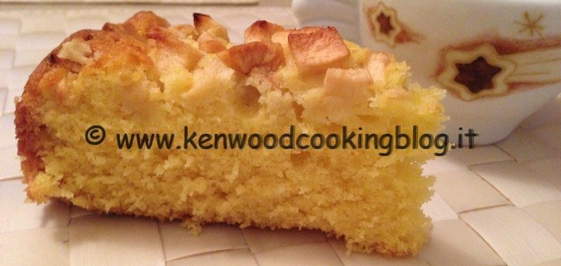 Ricetta torta di mele Montersino Kenwood