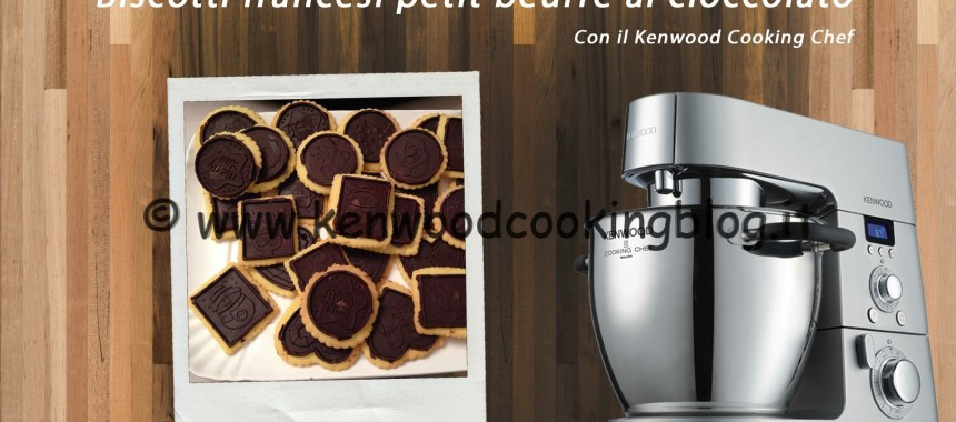 Video Ricetta Biscotti francesi Petit beurre al cioccolato fondente Kenwood