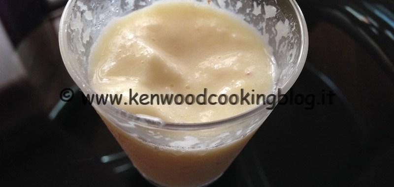 Ricetta Sorbetto all'Ananas veloce Kenwood