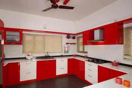 modern kerala home kitchen design