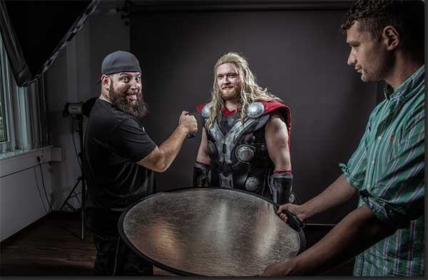 Thor-Cosplay-Calvin-Hollywood-Shooting-behindthescenes