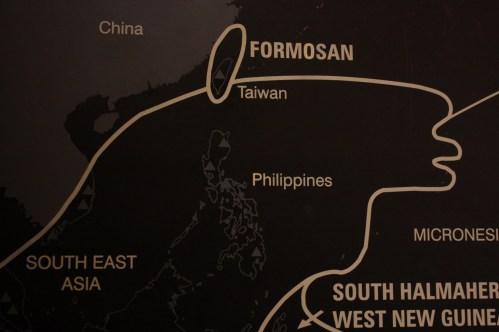 New Zealand Auckland War Memorial Museum Taiwan Map