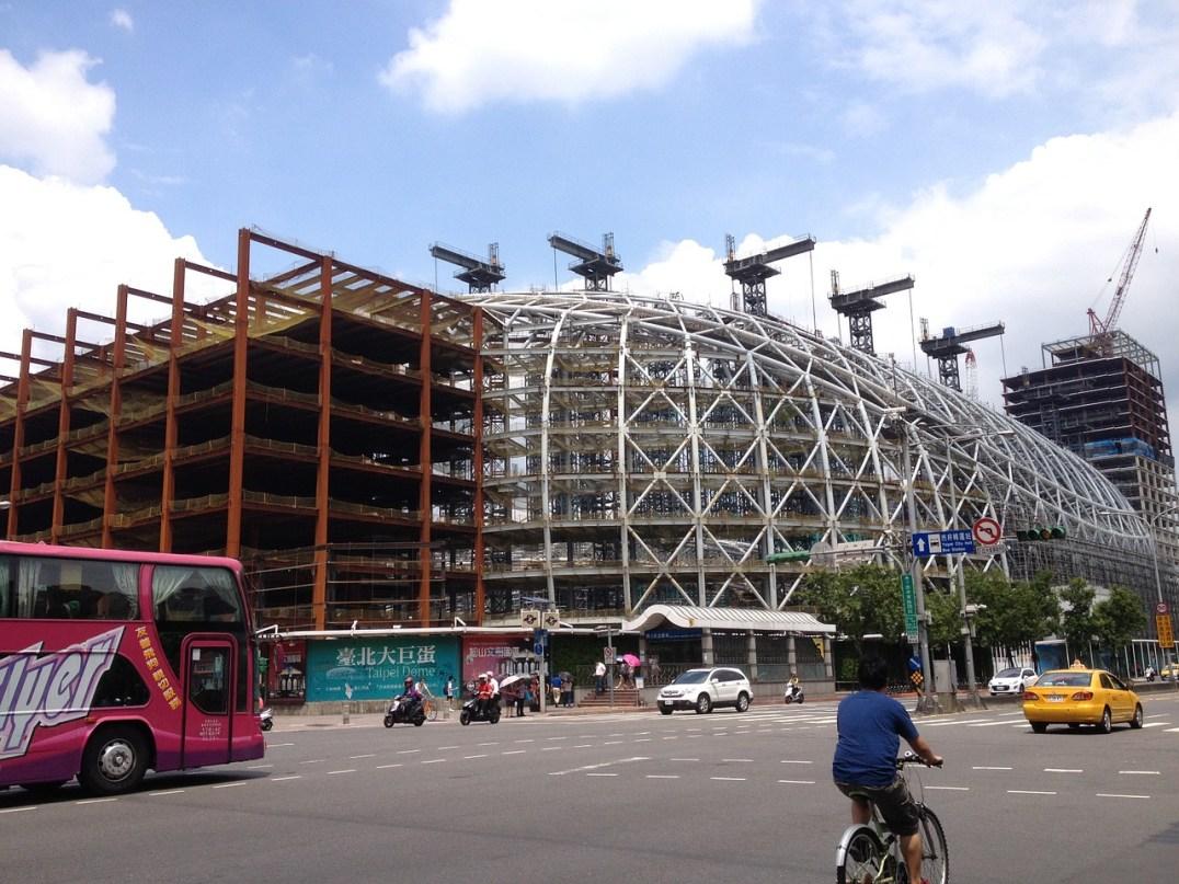 The controversial Taipei Dome, by iamvista, CC0