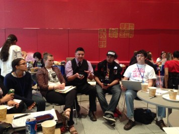Youth Caucus Meeting (by Ciwang Teyra)