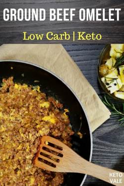 Eye Keto Ground Beef Omelet Keto Ground Beef Omelet Easy Low Carb Recipe Keto Vale Keto Recipes Ground Beef Soup Keto Recipe Ground Beef Instant Pot
