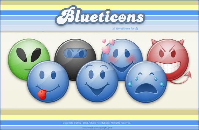 Blueticons