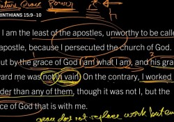 bible markup app used by John Piper Look at the Book