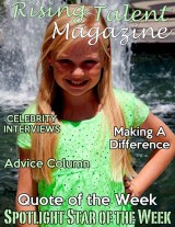 March 2013 Cover of Actress Danielle Parker