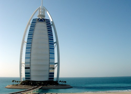 Burj Al Arab, United Arab Emirates- Amazing buildings