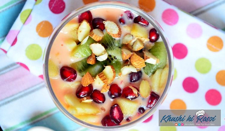 fruit-custard