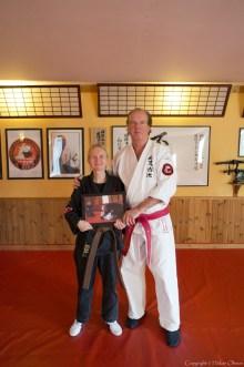 Soke Jan-Erik Karlsson 10 Dan, founder of Hoku Shin Ko Ryu.