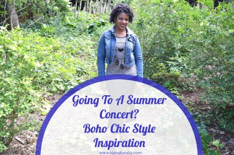 Going To A Summer Concert? Boho Chic Style Inspiration