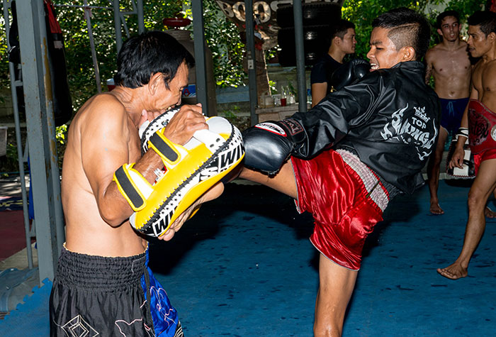 Khonkorn next fight training