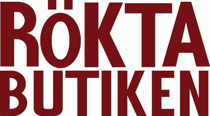 Rökta Butiken logotyp