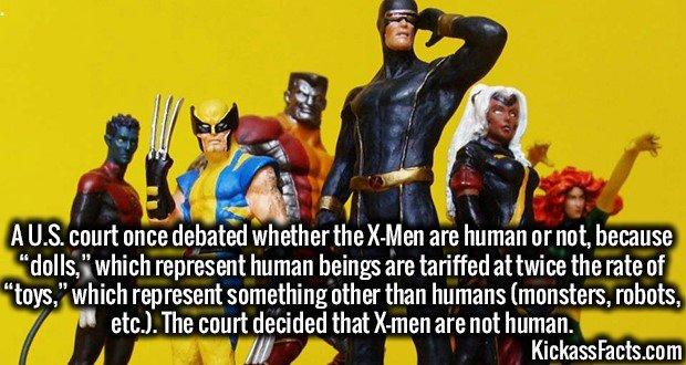 1815 X-Men action figure