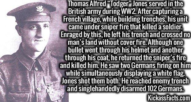 1923 Thomas Alfred Todger Jones