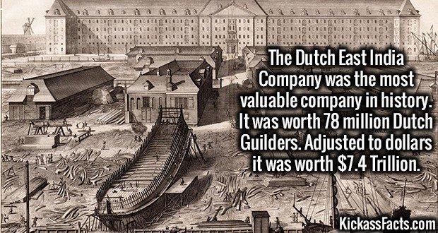 1924 Dutch East India Company Value