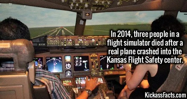 1929 Kansas Flight simulator Crash
